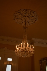 Chandelier and Ceiling Details