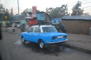 Ethiopian taxi cab
