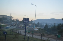 Driving in Addis
