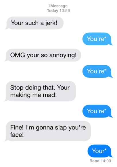 Spell Text