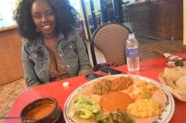 Valentine's Ethiopian dinner for my loves