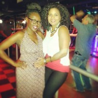 Renee and I at her performance on Sunday