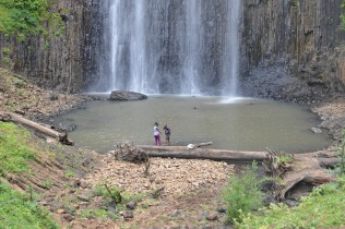 Waterfall in Bonga